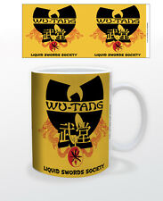 WU-TANG CLAN LIQUID SWORDS SOCIETY 11 OZ COFFEE MUG HIPHOP MUSIC NEW YORK NY RAP