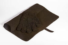 Mateque Black Heatproof Travel Mat with Mateque Heat Resistant Glove For C9 GHD