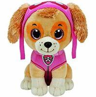 "Paw Patrol Beanie Boos TY Skye 11"" Medium Plush Toy"
