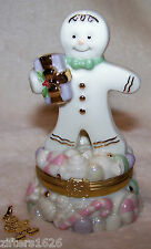 Lenox A Sweet Surprise Gingerbread Treasure Box With Charm 2 Available