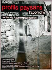Affiche PROFILS PAYSANS L'APPROCHE Raymond Depardon 120x160cm .