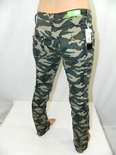 Tag: 3 New Day Jeans Brand Green Camo Super Stretch Tight Fit Leggings Jeans