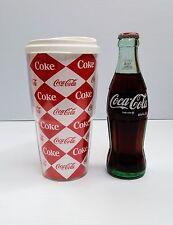 """Ciniplex Coca Cola Plastic Cup Coca Cola Polar Bear 7.5/"""" X 4.25/"""""""