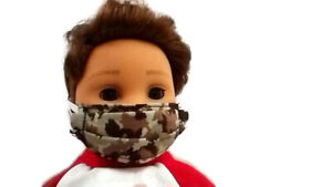 "Camouflage Face Mask 18"" Doll Clothes fits American Girl Doll and Boy Doll"