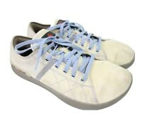 Reebok Crossfit 010 Womens 7.5 Tan Blue Suede Training Running Shoes
