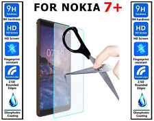 2x Genuine 100% Ultra HD TEMPERED GLASS  Screen Protector Cover For Nokia 7+