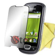 2 Pellicole Specchio Per Samsung S5570 GALAXY NEXT TURBO Salva Schermo Pellicola