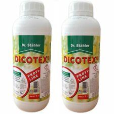 2 x 1L Dicotex Dr. Stähler Rasen Unkrautvernichter Profiline Rasen Unkraut Ex