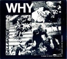 Discharge – Why CD - New / Digipak Re (2007) HC Punk D Beat
