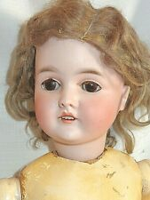 "Antique German Bisque Head 26"" Doll Armand Marseille QUEEN LOUISE 100"