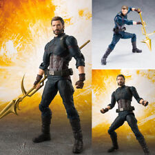 SHF Marvel Avengers Infinity War Movable Captain America Hero Action Figure Toy