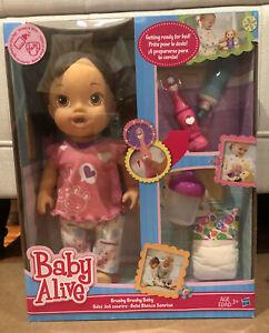 Hasbro Baby Alive Brushy Brushy Baby Doll - Brunette New in Box