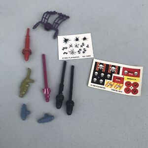 EXO-SQUAD Accessory Lot Missile projectile mast stickers playmates 1993 1995