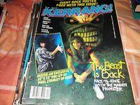 Kerrang 104 (no poster) Iron Maiden, John Cougar, Motley Crue, Little Steven