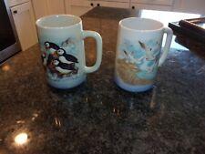 Vintage Otagiri Mug/Cup - Set Of 2 - Artic Wildlife - Excellent Condition