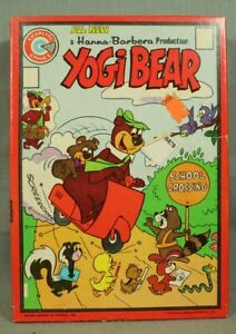 vintage Yogi Bear PUzzle comic book cover scooter boo boo school crossing