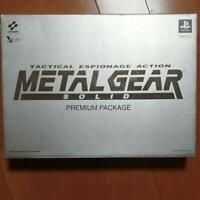 Metal Gear Solid Premium Package PS1 JPN Limited Tested VeryGood