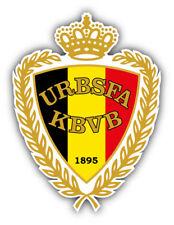 "KBVB Royal Belgium National Team Soccer Football Car Sticker Decal 4'' x 5"""