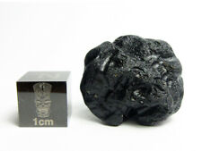 Bediasite Tektite 8.45g Impactite, Made by Meteorite Impact w/ Finder's Notes