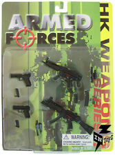In Toyz Armed Forces 1/6 Scale H.K. MP5A2, MP5A3, P7 PISTOL, USP PISTOL, MAGAZIN