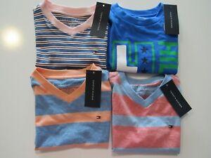 Tommy Hilfiger Boys Youth 100% Cotton Tshirts Nwt