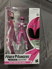 Mighty Morphin Power Rangers Lighting Collection Pink Ranger Figure MMPR Hasbro