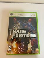Xbox 360 Transformers Revenge Of The Fallen (Microsoft, 2009) Complete CIB