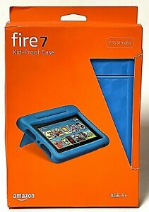 Amazon Fire 7 Kid-Proof Case Fits 9th Generation Punch Blue