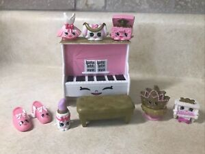 Shopkins Fashion Spree Ballet Collection With 8 Exclusive Figures 100% Complete