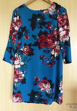 Joules Short Sleeve Tunic Floral Dresses for Women