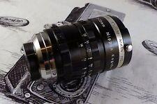 Very Rare Cine Nikkor F1.8 10mm C Mount Nikon Lens Nex 4/3 Sony Pentax Q