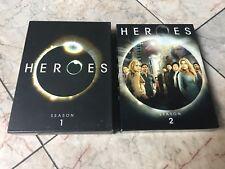 HEROES SEASONS 1 AND 2, DVD