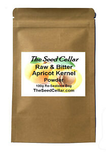 Bitter Apricot Kernels Powder - Himalayan  - Free UK Delivery