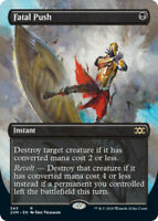 Fatal Push - Foil - Borderless x1 Magic the Gathering 1x Double Masters mtg card