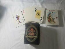 "Budweiser Classic Playing Cards- ""Budweiser's Greatest Triumph"" 2 decks, 1 new"