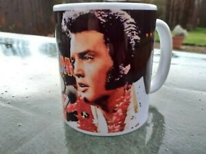 Elvis Presley Las Vegas Celebration 11 oz Cup / Mug Birthday / Christmas Gift