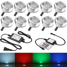 plug in electric rgb led paths lights ebay