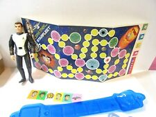 McDONALD'S PREMIUM PARTS PLAYING PIECES CAPTAIN KIRK PROMOTIONAL GAME AND BOARD