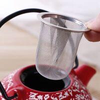 Reusable Stainless Steel Mesh Tea Infuser Strainer Teapot Tea Leaf Spice Filter