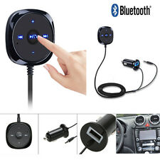 Bluetooth 3.5mm AUX Music Stereo Car Audio Receiver MP3 Adapter Hands-Free Kit