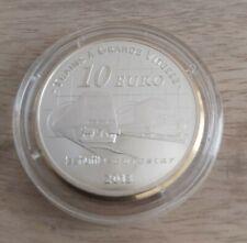 Pièce de 10 euros, FRANCE, 2013, Tunnel sous la manche, sous capsule