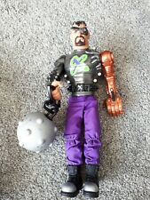 """Action Man Dr. X Villain Figure 13"""" with Ball & Chain VGC Articulated Figure"""