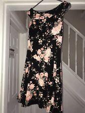Ladies Floral Off Shoulder Dress Miss Selfridge Size 8