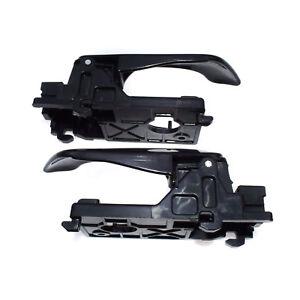 Pair Front Left & Right Interior Door Handles For Kia Optima 2006-2010 2.4L 2.7L
