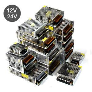 AC 100-220V à DC 12V 24V 5A 10A 15A 25A Alimentation Transformateur LED Adaptat