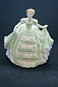 ROYAL WORCESTER FIGURINE. LADY HANNAH.  DEBUTANTES SERIES. LIMITED EDITION. 1996