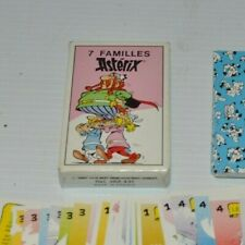 7 FAMILLES ASTERIX French Card Game 1987 Asterix The Gaul