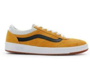 Ultra Rare Vans Comfycush Cruze CC SKATE SHOES Size 10.5 Vintage Suede Mango