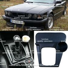 BMW E34 M5 Style gearshift Panel left hand drive with cup holder Lerrium