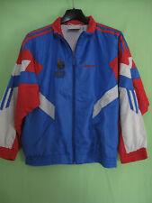 Veste Adidas Equipe France 90 S Jacket Polyamide Vintage enfant - 140   10  ans a9eea26dc87